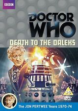 DOCTOR WHO DEATH TO THE DALEKS DVD Jon Pertwee Elisabeth Sladen UK Rel New R2