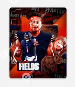 Justin Fields MAGNET - Chicago Bears NFL Quarterback Da Bears Rookie
