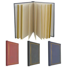 3 X SELF ADHESIVE LARGE PHOTO ALBUMS TOTALLING 60 SHEETS 120 SIDES ALBUM 3 X SEL
