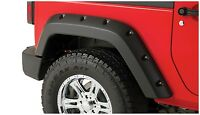 Bushwacker Pocket Rear Fender Flare Set 07-17 Jeep JK 2-Door, 10080-02