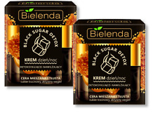 BIELENDA BLACK SUGAR & CARBON DETOX Pimples, Pores, Acne, Oily Skin LOT2