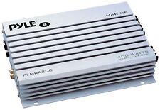 Pyle PLMRA200 Amplifier Marine 2 Chann.400 Watts