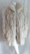 Vintage Fox Fur Coat Veste Taille 48 UK 18