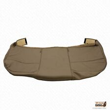 2008 2009 Ford F250 F350 F450 F550 XL Flatbed -Bottom Vinyl Bench Seat Cover Tan