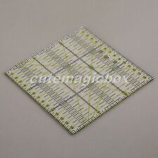 Transparent Rectangle Patchwork Ruler Qulting Sewing Cutting Tailor Tool 15 15cm
