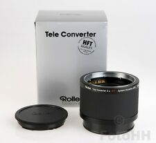 ROLLEI TELE CONVERTER 2X HFT (ROLLEI NUMBER 98253) BRAND NEW IN BOX
