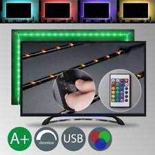 LED USB Backlight TV Hintergrund-Beleuchtung Licht-Band Stripes Streifen 48x RGB