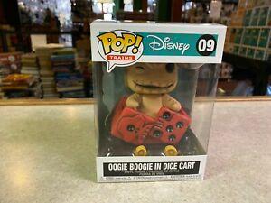 Funko POP! Disney Trains Nightmare Before Christmas OOGIE BOOGIE IN DICE CART #9