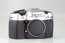 LEITZ LEICA R8 R-8 SILVER BODY MADE IN GERMANY CLA RESIDENCE TESTED R SYSTEM
