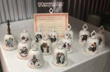 """Norman Rockwell """"The Wonderful World� Bell Collection Danbury Mint"""