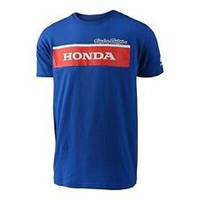Troy Lee Designs HONDA WING BLOCK TEE BLUE Blue