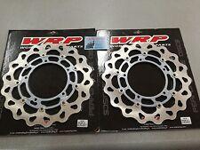 Coppia dischi freno flottanti wawe Yamaha R6/R1