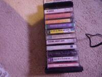 Cassette tapes lot of 13  Gospel ,Gaither, Boltz, Douglass rare studio and perfo