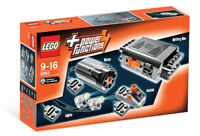 8293 LEGO Power Functions Motor Set TECHNIC Ages 9+ 10 Pieces