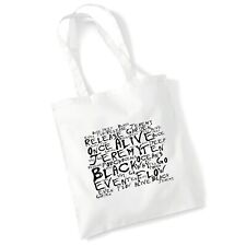 More details for pearl jam gift iconic album tote bag