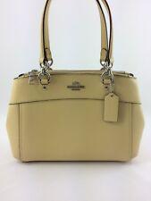 New Coach F25395 MINI BROOKE Carryall Satchel Handbag Purse Shoulder Bag Yellow