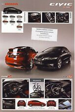 Honda Civic Type S Type R 2008 catalogue brochure polonais Poland rare