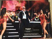 Pitbull Autographed 8 X 10 Concert Photo COA CERTIFIED