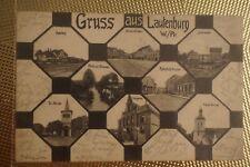 Gruss aus Lautenburg / Lidzbark, Kreis Strasburg, Westpreußen 1915