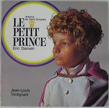 Le Petit Prince 33 tours Saint-Exupéry Eric Damain Jean-Louis Trintignant