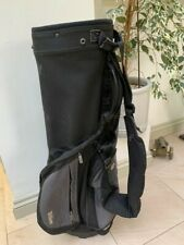 Wilson Carry or Cart Golf Bag - Black with rain cover