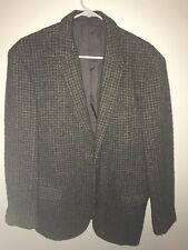 Vintage Grudge Harris Tweed Sports Jacket Size 40R Wool Warm Free Shipping Coat