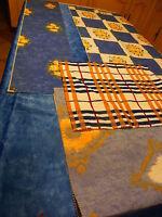 lot==== 660g de tissus assortis pour coussins ou créations patchwork