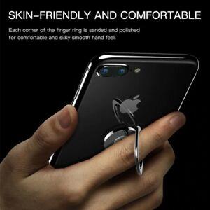 Mini 360 Degree cute Finger Ring Metal Phone Stand Mount flat Smartphone Holder