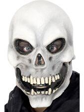 Skull Overhead Halloween Horror Mask Adult Mens Smiffys Fancy Dress Costume