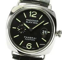PANERAI Radiomir black seal PAM00287 Date Automatic Men's Watch_568940