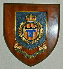 Northumbria Police mess wall plaque shield crest Constabulary