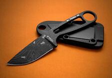 ESEE IZULA FIXED BLADE KNIFE WITH ANT ENGRAVING 1095HC w/ KYDEX SHEATH IZULABANT