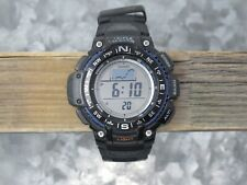 Casio SGW1000-1A Triple Sensor Mens Watch Altimeter Compass Barometer 100M