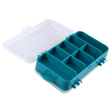 Double-Side 13 Grids Plastic Screw Components Transparent Storage Case Tool Box