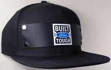 Hat Cap Front Nylon Strap Ford Built Tough Black BFTG