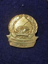PAPUA NEW GUINEA PNG AMBULANCE HAT BADGE
