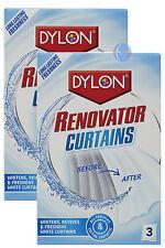 Dylon renovador cortina blanquea revive & refresca blanco Cortinas-022140