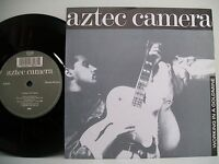 """7"""" VINYL SINGLE. Working In A Goldmine by Aztec Camera. 1988. WEA. LC 4281."""