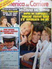 La Domenica del Corriere 5 Settembre 1979 Savoia Diba Morte Meazza Di Capri Usa