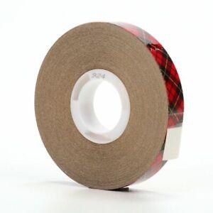 "3M Scotch 924 ATG Premium Adhesive Transfer Tape, 1/2"" x 36 yd Roll"