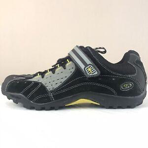 Specialized Tahoe MTB Cycling Shoes Black Grey Shimano Cleats Men's Size EU 44
