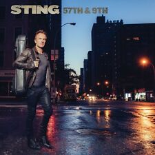 57th & 9th STING 180 GR GATEFOLD VINYL LP ALBUM 1ST PRESSING SEALED