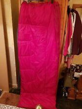 Single Red Sleeping Bag Used Once!