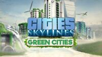 Cities Skylines Green Cities Expansion DLC for PC Steam (KEY ONLY) Fast Delivery