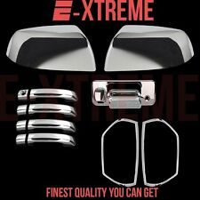 For 14-15 TOYOTA TUNDRA 4DRS+MIRROR+TAILGATE+TAILLIGHT ABS CHROME COVERS