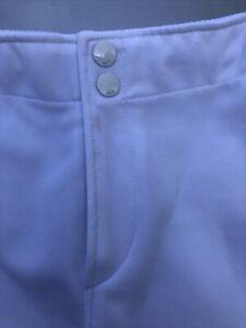 Mizuno White Softball Pants size Small EUC