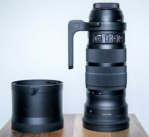 Sigma 120-300mm f/2.8 EX DG OS HSM SPORT Lens Canon EF boxed excellent condition