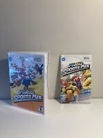 Mario Sports Mix for Wii Instruction Manual and Case Only! No Game!