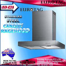 EUROTAG 60cm S/STEEL 3 SPEED CANOPY MODEL: CXW-125-62760 BRAND NEW  RRP$599.00