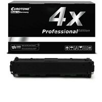 4x Pro Cartridge Black Replaces Canon 045H BK